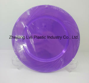 Plastic Plate, Disposable, Tableware, Tray, Dish, SGS, Pb-04 pictures & photos