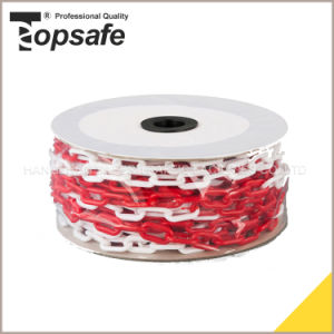 Red White Color Plastic Safety Warning Chain pictures & photos