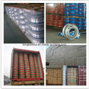 Steel Alloy Wheel Rims Auto Parts for Crane and Forklift pictures & photos