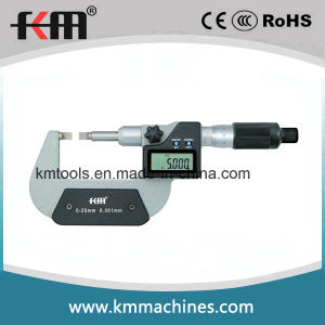 0-25mm Digital Blade Micrometers with 0.001mm Resolution pictures & photos