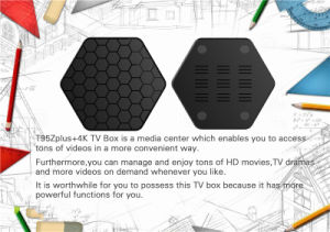 2017 Android 6.0 Pendoo T95z Plus Amlogic S912 2g 16g Fully Loaded Kodi Octa Core Smart TV Box Media Player pictures & photos
