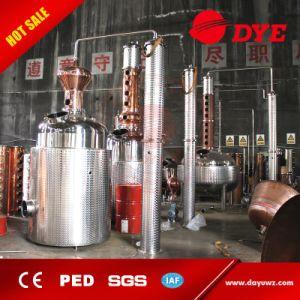 Reflux Column Alcohol Distillation Equipment Whisky Copper Distiller pictures & photos