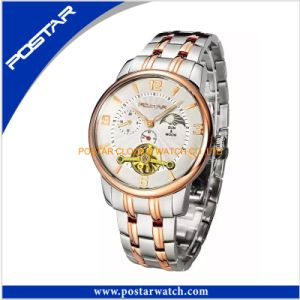 Multifunction Automatic Watches for Men Fashion Stainless Steel Watch pictures & photos