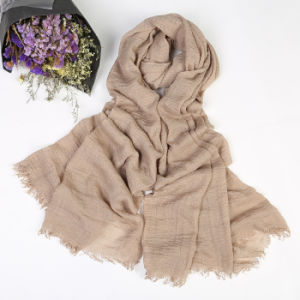 Polyester / Printed / Cheap / Scarf / Voile pictures & photos