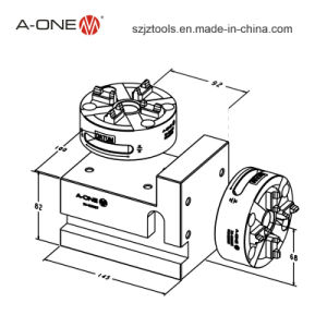 Manufacturer of Erowa Metal Working Chuck /Vertical to Horizontal Chuck (3A-100027) pictures & photos