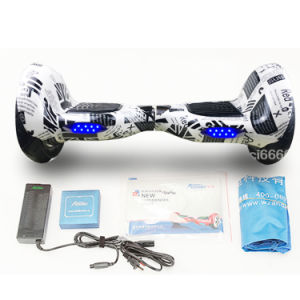 10 Inch 2 Wheel Bicycle Hoverboard Self Balancing Scooter Electric Skateboard pictures & photos