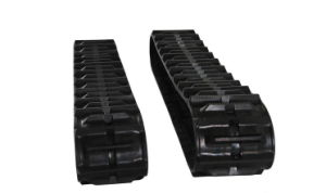 Liulin Combined Harvester Rubber Track pictures & photos