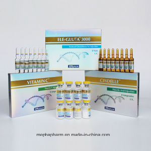 Cosmetic Grade Glutathione Injection for Skin Lighting (1500mg 3000mg) pictures & photos