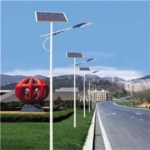 15W to 60W LED Solar Street Light Powered by Solar Panel pictures & photos