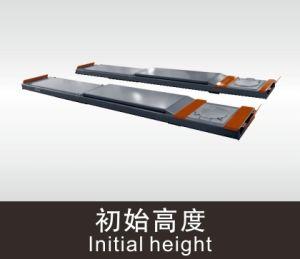 High Quality Scissor Car Lift Suitable for Four Wheel Alignment pictures & photos