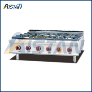 Gh797-1 Gas Range with 6 Burner of Cooking Equipment pictures & photos