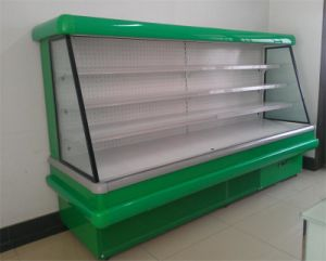 Supermarket Display Fridge for Fruit, Vegetable Showcase pictures & photos