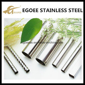 201 304 Embossed Stainless Steel Decorative Pipe pictures & photos