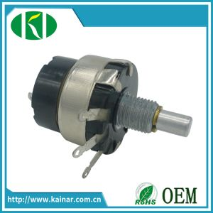 Wx010s Precision Single-Turn Wirewound Potentiometer pictures & photos