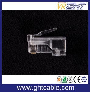 CAT6 UTP Unshielded 8p8c RJ45 Modular Connect Plug pictures & photos