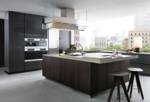Best Sense High Quality Walnut Solid Wood Walnut Kitchen Cabinets pictures & photos