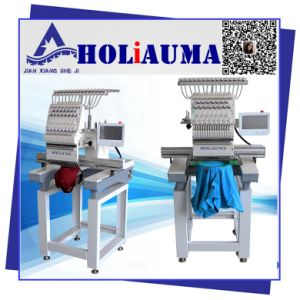 Holiauma One Head Embroidery Machine/Single Head Cap and T-Shirt Embroidery Machine/Embroidery Sewing China Price pictures & photos