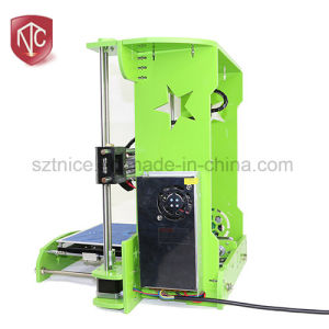 2017 New Style Touch Screen  Factory Direct Marketing Desktop 3D Printer pictures & photos