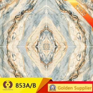 Decoration Stone Super Flat Polished Glazed Porcelain Floor Tile (853A. B) pictures & photos