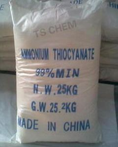 High Purity 98% Ammonium Thiocyanate pictures & photos