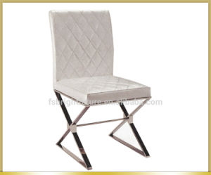 Most Popular White Leather Dining Chair pictures & photos