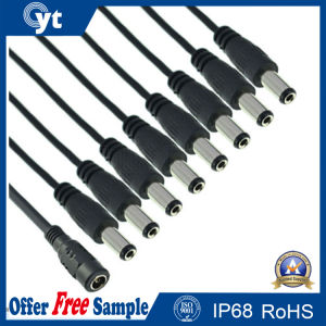 Splitter Cable DC 24V CCTV 8 Way Power Adapter pictures & photos