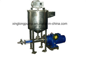 Xinglong Positive Cavity Screw Pumps for Hot Starch, Bentonite, etc. Used in The Process of Paper Coating pictures & photos