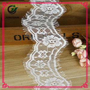 Fashion Chemical Lace White Color Slim Trims Water Soluble Flower Trim Lace pictures & photos