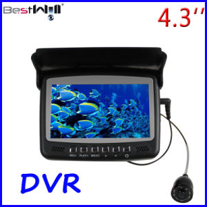 HD 1000 TVL 4.3′′ Digital LCD Screen Underwater Fishing Camera Ice Fishing Camera CR110-7HBS with DVR with Sun-Visor and 15-30m Strong Cable pictures & photos