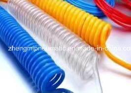 Light Blue Polyurethane Recoil Hose (8*5mm, 15M) pictures & photos