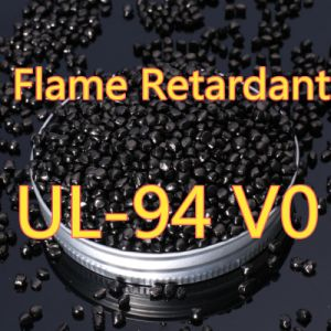 Flame Retardant Black Masterbatch Polyester Film pictures & photos
