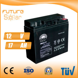 Futuresolar Lead Acid Battery 12V 17ah Solar Panel Battery pictures & photos