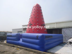 Inflatable Rock Climbing Wall for Sports Game pictures & photos
