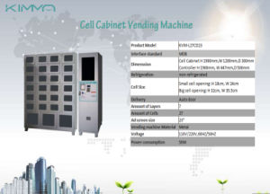 Advertisement Screen Control Cabinet + 17 Cells Locker pictures & photos