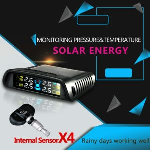 Internal Sensor Tmps for Car by Solar Energy