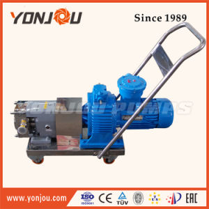 Sanitary High Viscosity Lobe Rotor Food Stainless Steel Pump pictures & photos