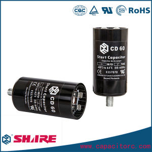 220V CD60 Motor Start Capacitor pictures & photos