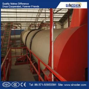 Biomass Organic Fertilizer Making Production Plant in China pictures & photos