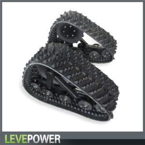 Triangle Rubber Track Crawler From Leve pictures & photos