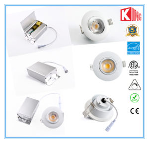 High Quality 5years Warranty Es ETL LED Downlights 3inch 4inch pictures & photos