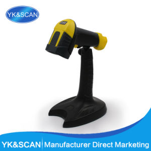 Yellow Cheap Handfree 1d Laser Barcode Scanner Yk-960b pictures & photos