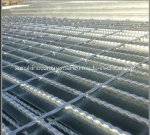 Hot DIP Galvanized Jagged Steel Grating pictures & photos