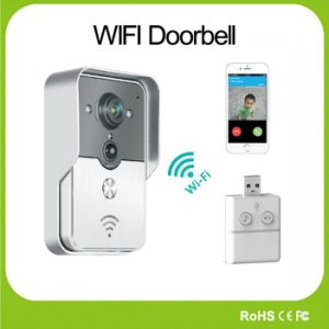 WiFi Video Doorbell Remote Photo/Video IR Camera Door for iPhone Ios Android System Mobilephone Tablet PC Home Security
