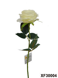 Artificial/Plastic/Silk Flower Single Stem of Rose (XF30004) pictures & photos