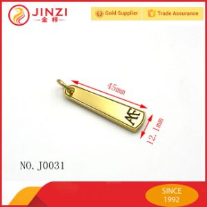 Small Size Shiny Zinc Alloy Zip Puller