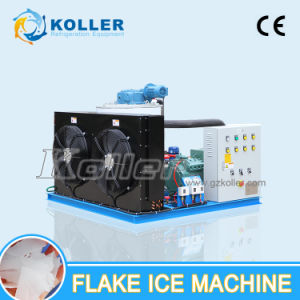 China Koller Salt Water Flake Ice Maker Machine with PLC Controller for Fishing Boat pictures & photos