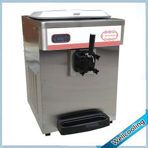 Stainless Steel Single Flavor Small Frozen Yogurt Machine pictures & photos