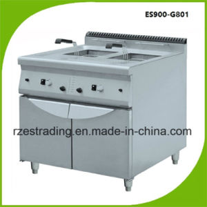 Gas Deep Fryer with Cabinet for Hotel and Restaurent Es900-G801 pictures & photos