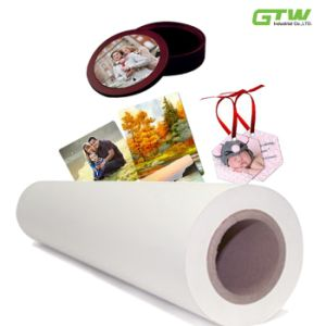 Factory Supply Quick Dry 80GSM Sublimation Transfer Paper pictures & photos