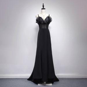 Garment Customization Elastic Knitting Blk Mermaid Dinner Jacket pictures & photos